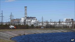 Chernobyl's Number Four Reactor - 20 April 2011