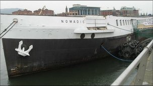 SS Nomadic, Belfast