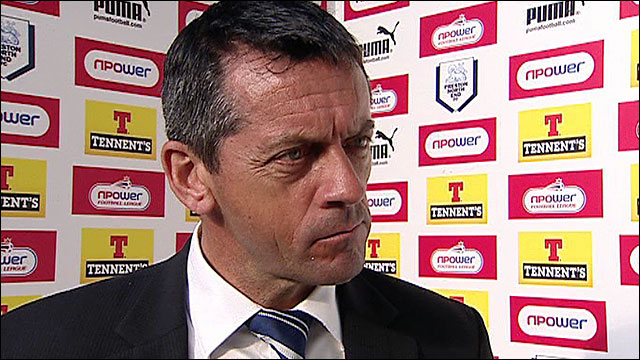 Preston boss Phil Brown