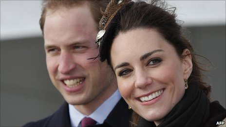Prince William and Kate Middleton at a naming ceremony for the RNLI&#039;s new lifeboat at Anglesey earlier this year