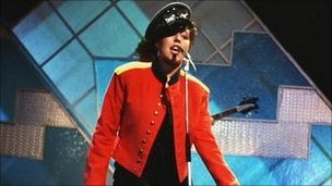 Poly Styrene on Top of the Pops
