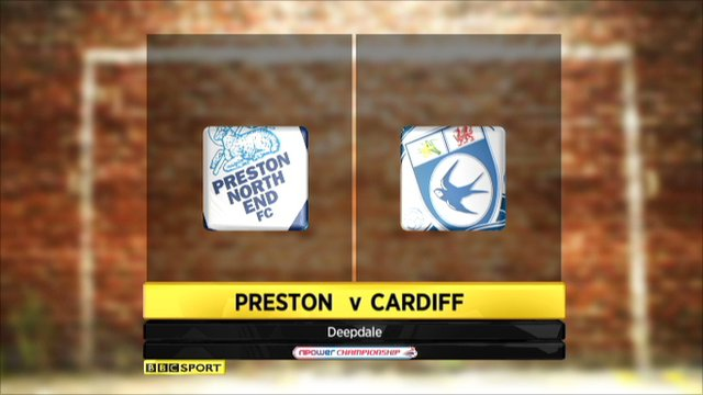 Preston V cardiff highlights