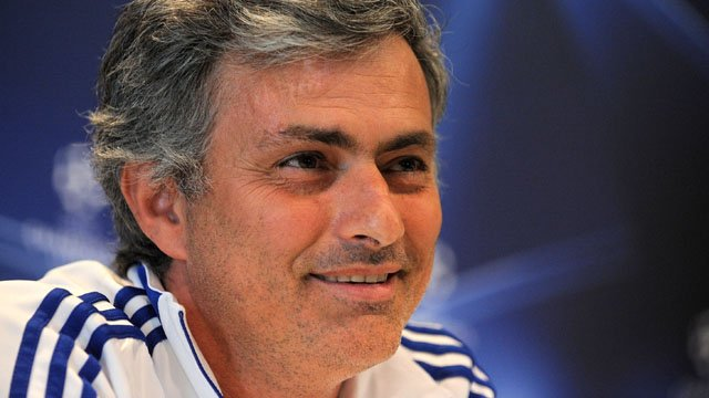 Real Madrid manager Jose Mourinho