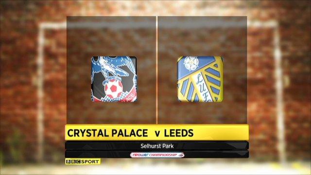 Highlights Crystal Palace v Leeds