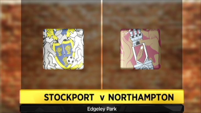 Highlights - Stockport 2-2 Northampton
