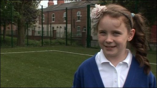 One of the pupils who told us why they're excited about the royal wedding