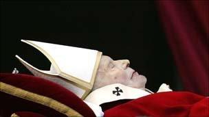 Pope's body - 2005