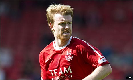 Aberdeen defender Steven Smith