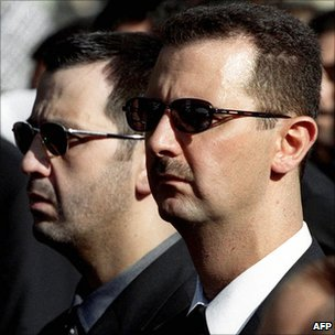 Maher al-Assad and Bashar al-Assad (2000)