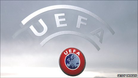 Uefa HQ in Nyon in Switzerland