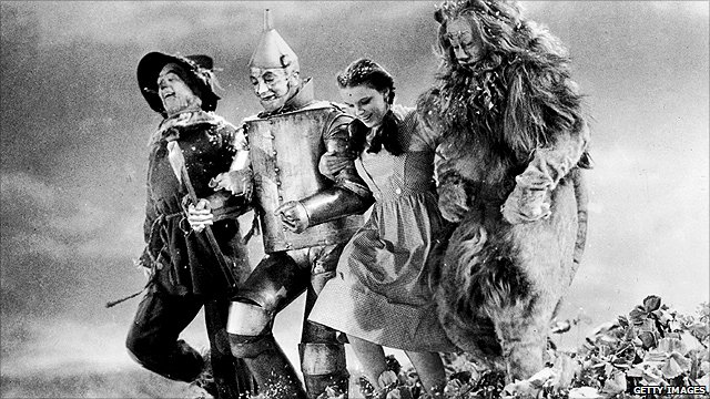 Image from the Wizard of Oz feature film
