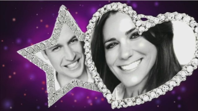 William and Kate graphic