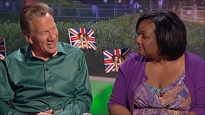 Michael Portillo and Diane Abbott