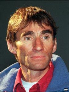 Swiss climber Erhard Loretan (image from 1998)