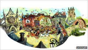 Royal wedding Google doodle