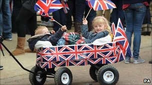 Royal wedding: Bunting out across UK for parties