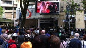 Cardiff crowds