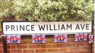 Celebrations in Prince William Avenue, Canvey Island