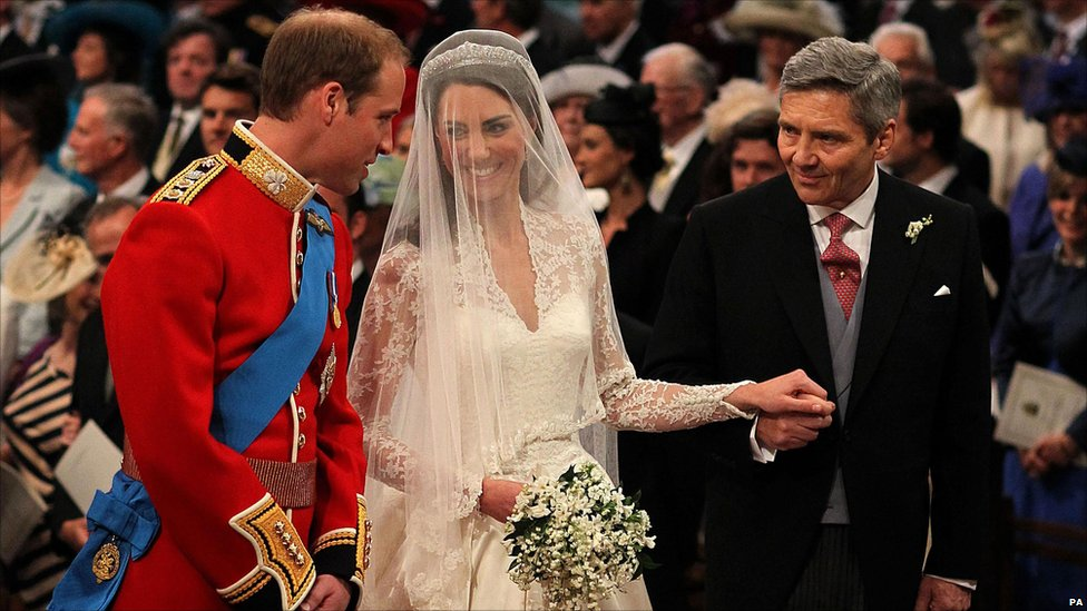 Bbc News Royal Wedding In Pictures