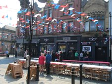 Oldham street party