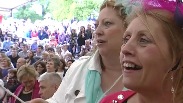 Bucklebury celebrations
