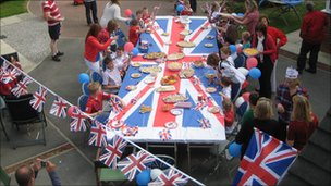 Street party, Hull, England. Photo: Alan Woodcock