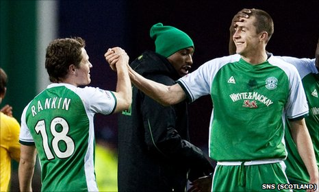 John Rankin and Colin Nish were on target in a 2-0 win over Celtic in 2008
