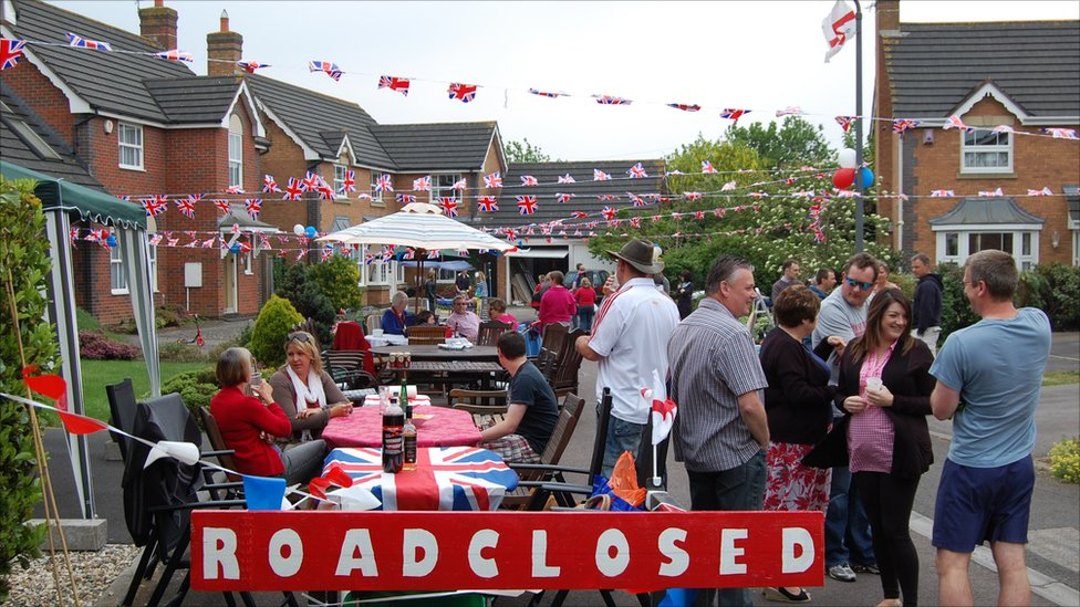 royal wedding street party. In pictures: Royal wedding