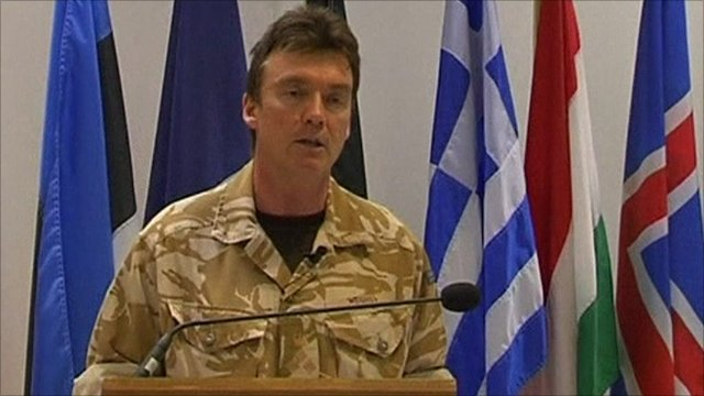 Nato's director of operations in Libya, Brig Rob Weighill