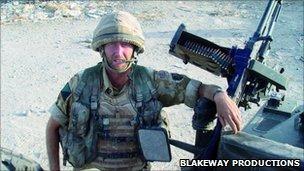 Capt Doug Beattie, Afghanistan, 2006
