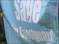 Protest blaenorol yng Nghaergybi