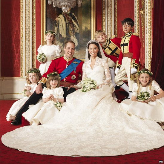 Royal wedding: official photographs