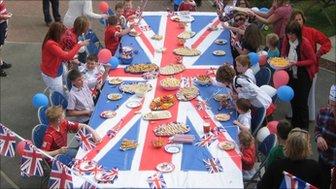 Street party, Hull, England. Photo: Alan Woodcock