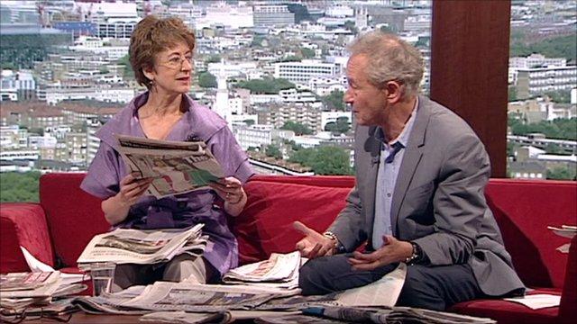 Maureen Lipman and Simon Schama