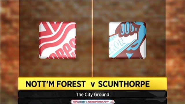 Nottingham Forest v Scunthorpe