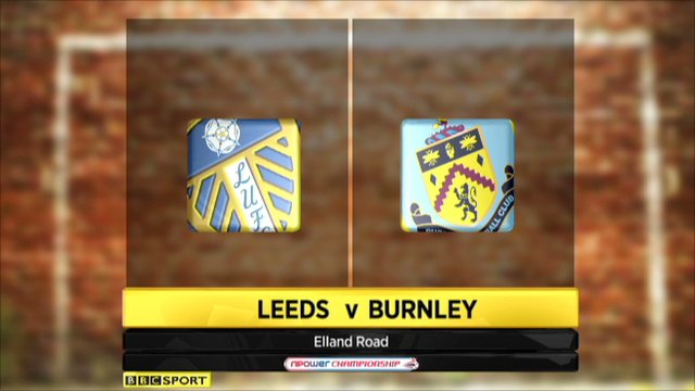 Leeds 1-0 Burnley