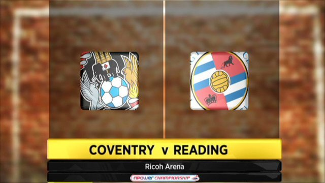 Coventry v Reading