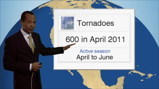 Jay Wynne in front of a weather graphic