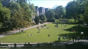 Union Terrace Gardens
