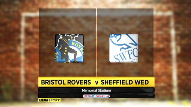 Bristol Rovers 1-1 Sheff Wed
