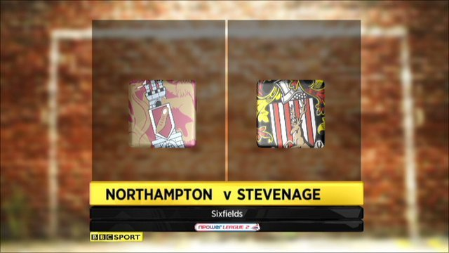Northampton 2-0 Stevenage