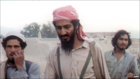 Osama Bin Laden, in Jalalabad area of Afghanistan in 1989