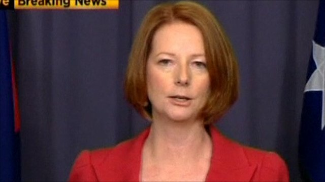 Australia&#039;s Prime Minister Julia Gillard