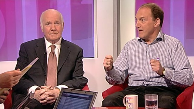 John Reid and Simon Hughes