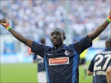 Freiburg & Senegal striker Papiss Demba Cisse