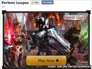 Fortune League screenshot