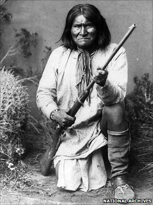 Geronimo, file picture 1887