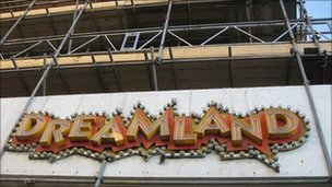 Dreamland sign