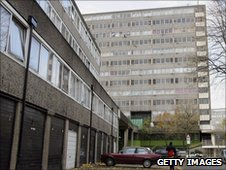 Council flats, London - file pic