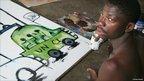 Abdoulaye Diarrasouba painting